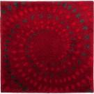 Spray - Badmat - Rood - 60 x 60 cm