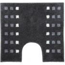 Casilin Brica - Antislip WC mat- Toilet mat met uitsparing - Grijs - 60 x 55 cm
