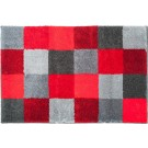 Blocks - Badmat - 65x115cm - Red