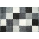 Blocks - Badmat - 65x115cm - Grey