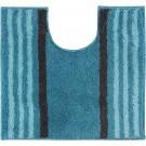 Casilin - Lima - Antislip WC mat- Toilet mat met uitsparing - Aqua - 60 x 55 cm