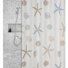 Roomture - douchegordijn - zee - 180 x 200 cm