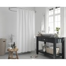 Roomture Douchegordijn - 120x200cm - Wit