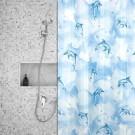 Roomture - douchegordijn - Dolphins - 180 x 200