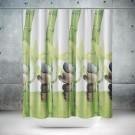 Roomture - douchegordijn - natural - 180 x 200