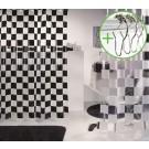 Spirella Matto Douchegordijn Vinyl - 180x200 cm - Wit | DOUCHEGORDIJN + RINGEN